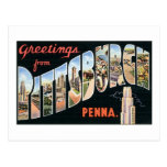 Greetings from Pittsburgh, Penna Postcard