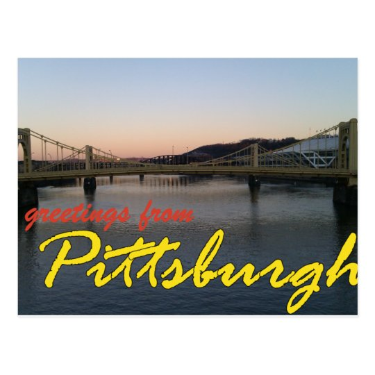 Greetings from Pittsburgh Postcard