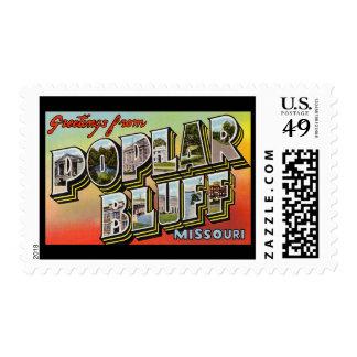 Greetings from Poplar Bluff Missouri Stamp