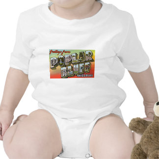 Greetings from Poplar Bluff Missouri T-shirts