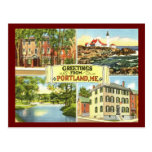 Greetings from Portland, Maine Vintage Post Cards