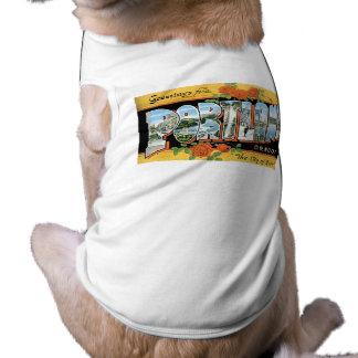 Greetings from Portland, Oregon! Doggie Shirt