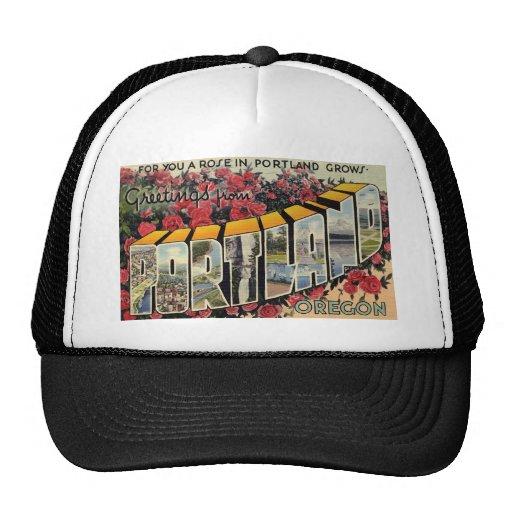 Greetings from Portland Oregon Mesh Hat