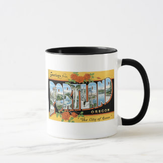 Greetings from Portland, Oregon! Mug