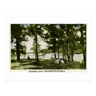 Greetings from Prarieville, Michigan Postcard