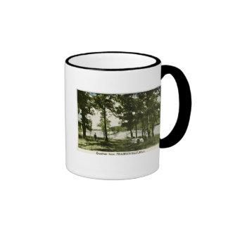 Greetings from Prarieville, Michigan Ringer Mug