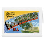 Greetings from Providence, Rhode Island! Card