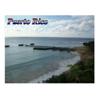 Greetings From Puerto Rico Postcard