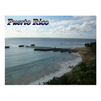 Greetings from puerto rico postcard zazzle m4hsunfo