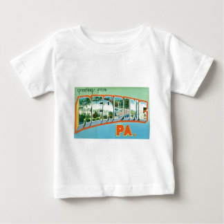 Greetings from Reading Infant T-Shirt Vertical