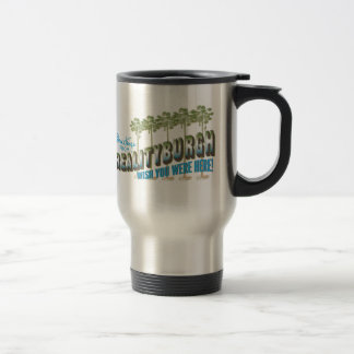 Greetings from Realityburgh - wish you were here Coffee Mugs