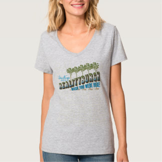 Greetings from Realityburgh - wish you were here T-Shirt