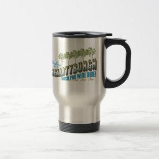 Greetings from Realityburgh - wish you were here Travel Mug