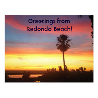 Greetings from Redondo Beach Postcards