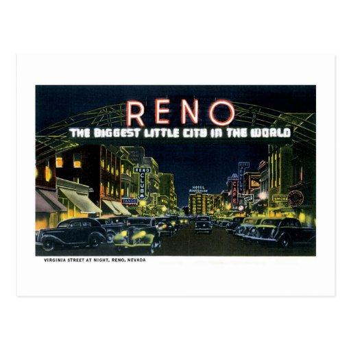 Greetings from Reno, Nevada! Post Card