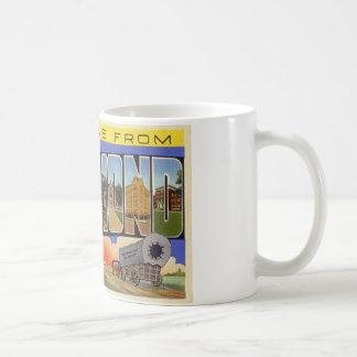Greetings from Richmond Indiana Classic White Coffee Mug