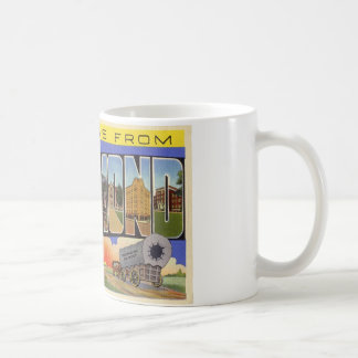 Greetings from Richmond Indiana Coffee Mug