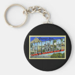 Greetings from Riverside California Keychains