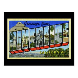 Greetings from Riverside California Post Card