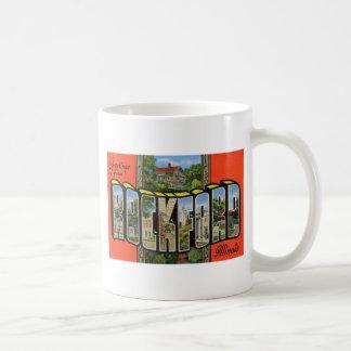 Greetings from Rockford Illinois Coffee Mug