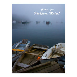 Greetings from Rockport, Maine! Postcard