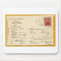 Romania postcards zazzle greetings from romania postcard mailed in 1910 m4hsunfo