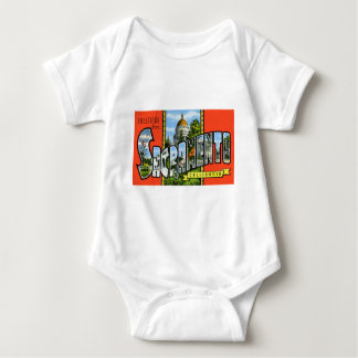 Greetings from Sacramento California Baby Bodysuit
