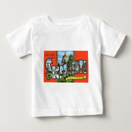 Greetings from Sacramento California Baby T-Shirt