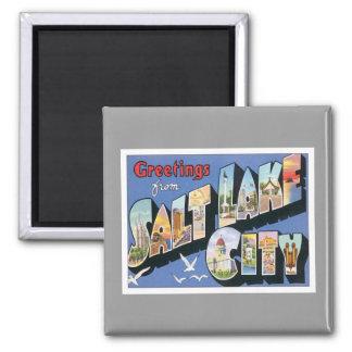 Greetings From Salt Lake City Utah Magnets