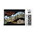 Greetings from San Antonio Texas Stamp