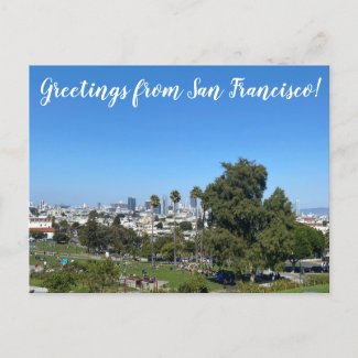 Greetings from San Francisco Postcard