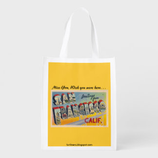Greetings from San Francisco Market Tote