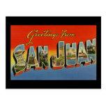 Greetings from San Juan Postcard