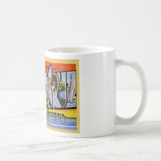 Greetings from Santa Cruz California Mugs