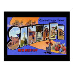 Greetings from Santa Fe New Mexico Postcards
