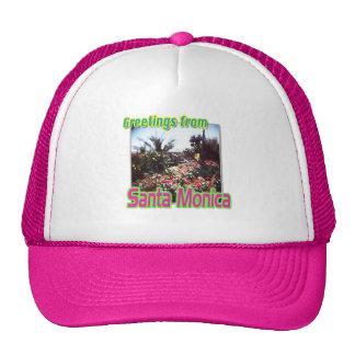"""Greetings from Santa Monica Garden"" Hat"