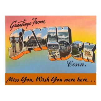 Greetings from Savin Rock Postcard