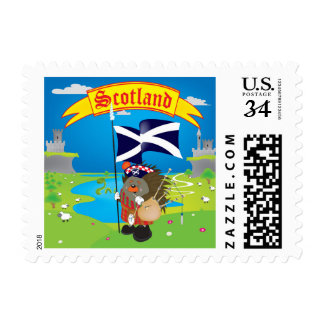Greetings from Scotland Postage
