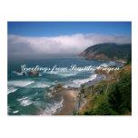 Greetings from Seaside, Oregon Postcard