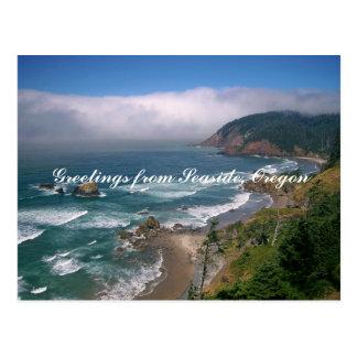 Greetings from Seaside Oregon Postcard