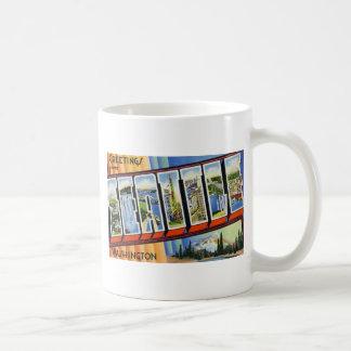 Greetings from Seattle Washington Coffee Mug