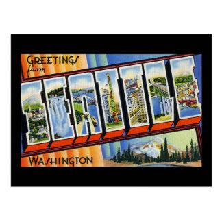 Greetings from Seattle Washington Postcard