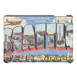 Greetings From Sele Washington, Vintage iPad Mini Cover