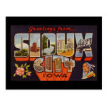Greetings from Sioux City Iowa Post Cards