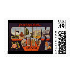 Greetings from Sioux City Iowa Stamps