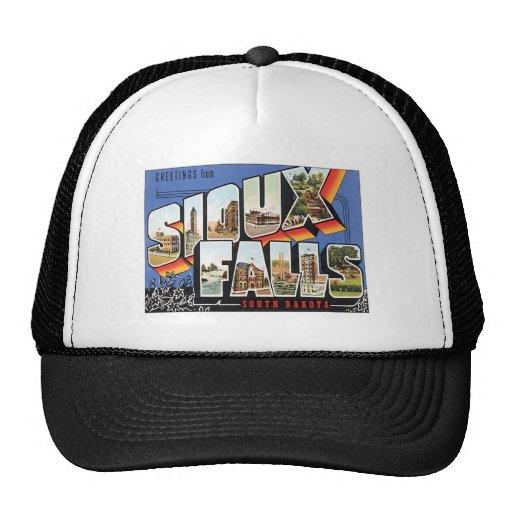 Greetings From Sioux Falls,South Dakota Trucker Hats