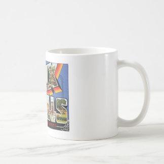 Greetings From Sioux Falls,South Dakota Coffee Mugs
