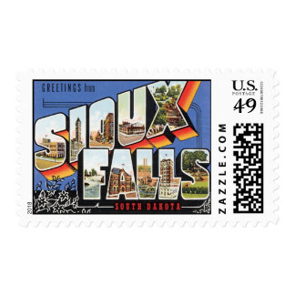 Greetings From Sioux Falls,South Dakota Postage