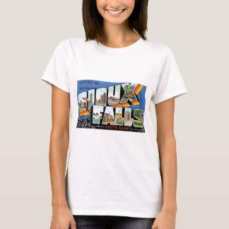 Greetings from Sioux Falls, South Dakota! Retro T-Shirt