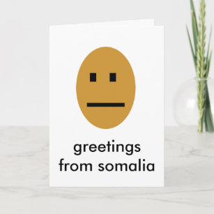 Somalia cards zazzle greetings from somalia card m4hsunfo